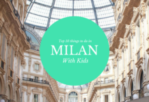 """Cover photo for post titled """"Top 8 things to do in Milan with kids."""" Photo of Piazza in Milan"""