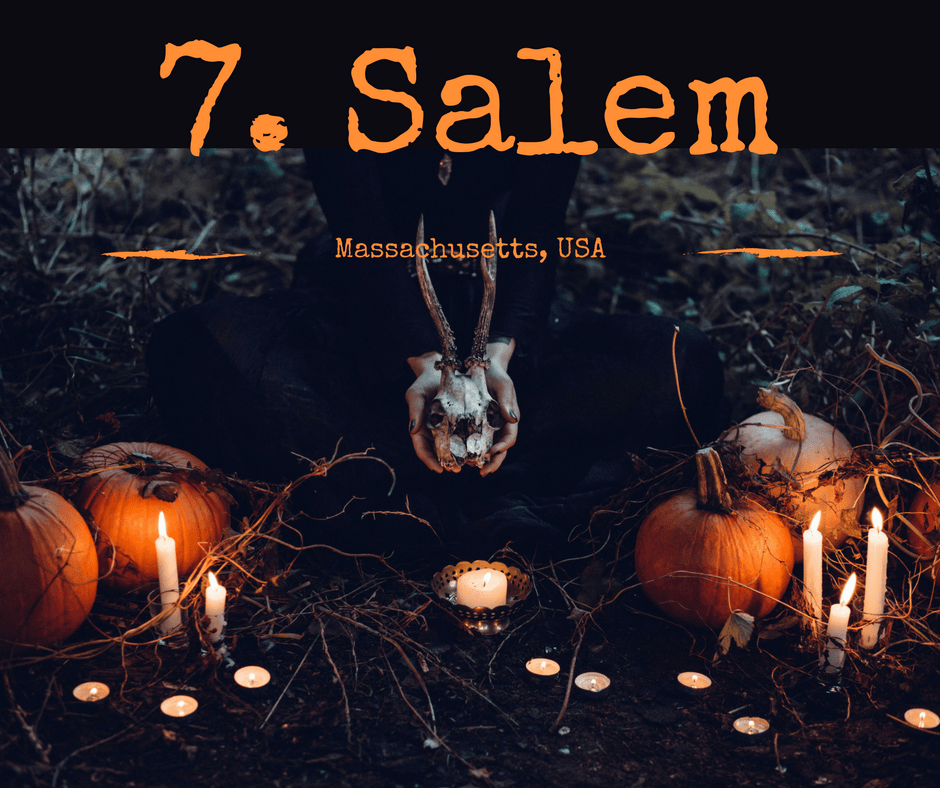 Coolest places in the world to visit this halloween #7 Salem, Massachusetts USA