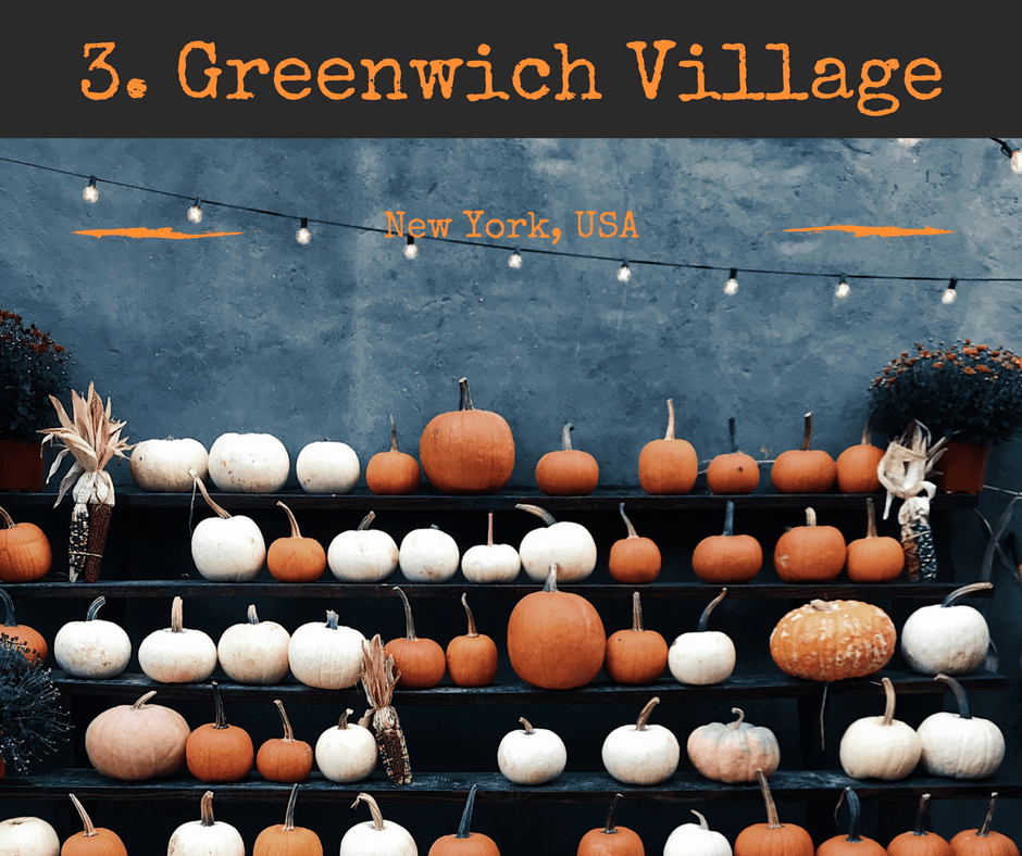 Halloween Vacations 2018 #3 Greenwich Village, New York, USA