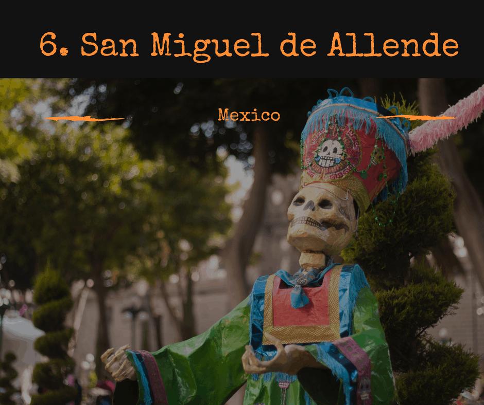 Best Halloween parties in the world #6 San Miguel De Allende