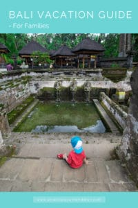 Pinterist image of toddler in bali