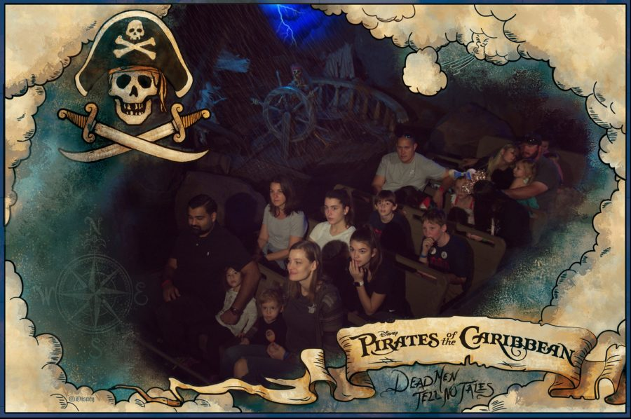 Ride photo from Walt Disney World's Pirates of the Caribbean