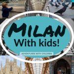Toddlers explore Milan
